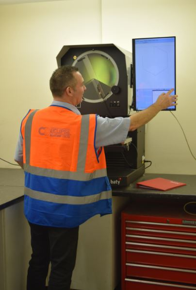 January 2019: Baty Profile Projector Ensures Quality for Magnetic Technology Experts Eclipse Magnetics