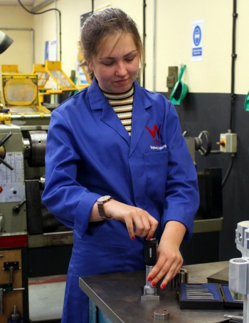 October 2018: Engineering Students at Weymouth College Benefit from Bowers Group Bore Gauge Donation