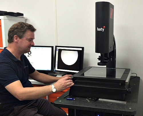 Oct 2015: Pentagon Plastics Takes Quality Control to New Heights with the Baty Venture 3030